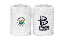 Power Balance Schweißband Terry Cloth weiß